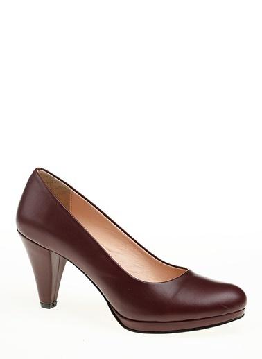 Beta Topuklu Ayakkabı Bordo